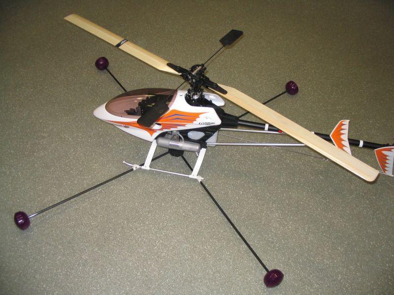 Тренировочные шасси своими руками для вертолета